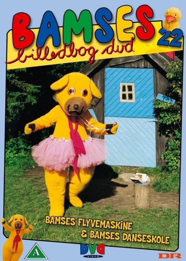 Image of   Bamses Billedbog - Flyvemaskine Og Danskeskole - DVD - Film