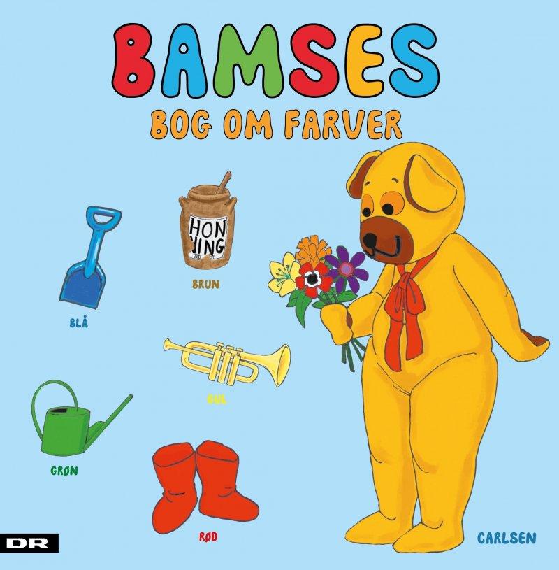 Bamses Bog Om Farver - Diverse - Bog