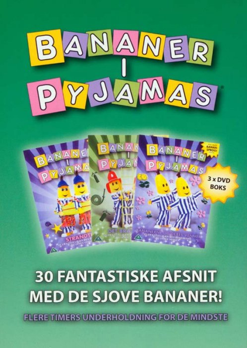 Billede af Bananer I Pyjamas Boks - DVD - Film