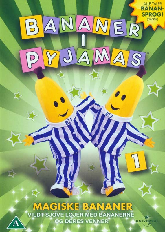 Image of   Bananer I Pyjamas - Vol. 1 Magiske Bananer - DVD - Film