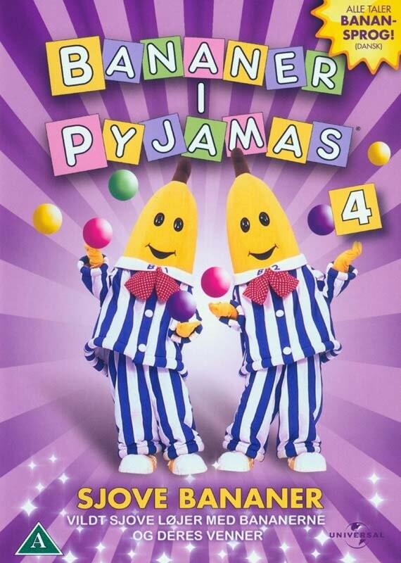 Image of   Bananer I Pyjamas - Vol. 4 - DVD - Film