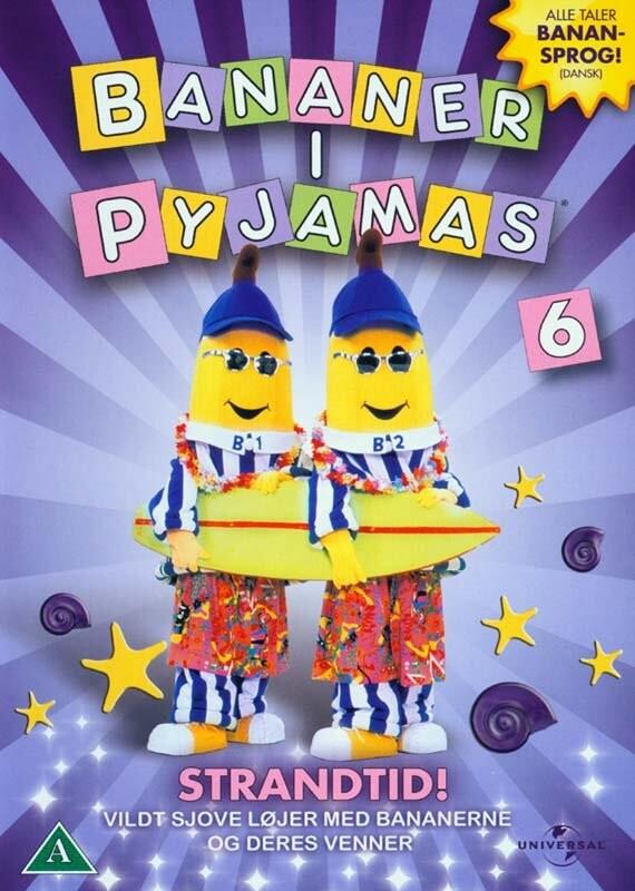 Image of   Bananer I Pyjamas - Vol. 6 Strandtid Vol. 6 Strandtid - DVD - Film