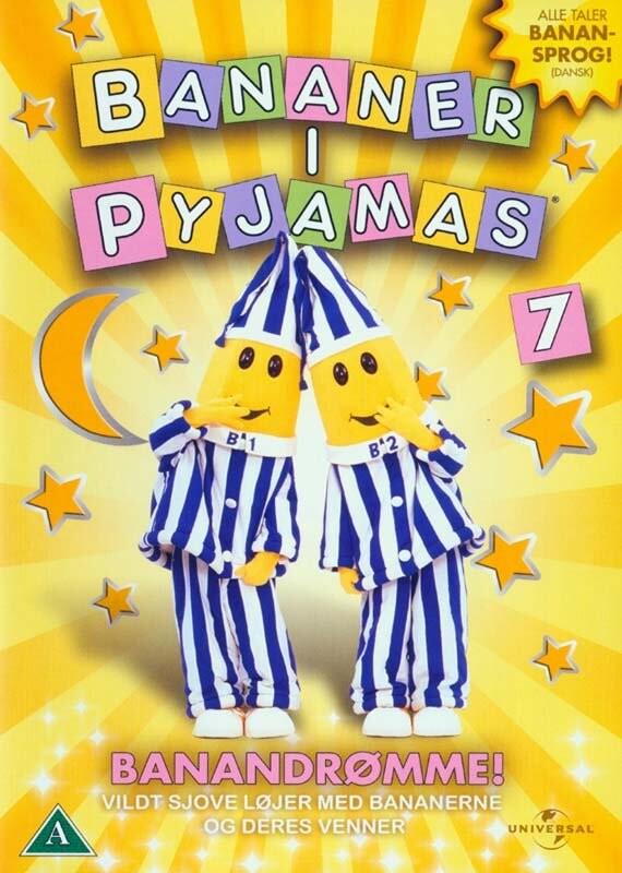 Image of   Bananer I Pyjamas - Vol. 7 Banandrømme - DVD - Film