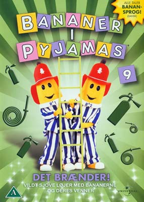 Image of   Bananer I Pyjamas - Vol. 9 - DVD - Film