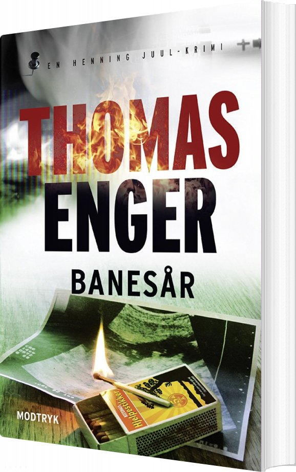 Image of   Banesår - Thomas Enger - Bog
