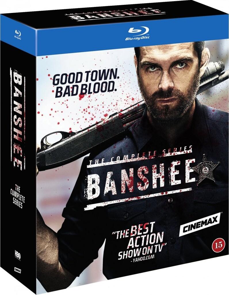 Image of   Banshee - Den Komplette Serie - Hbo - Blu-Ray - Tv-serie