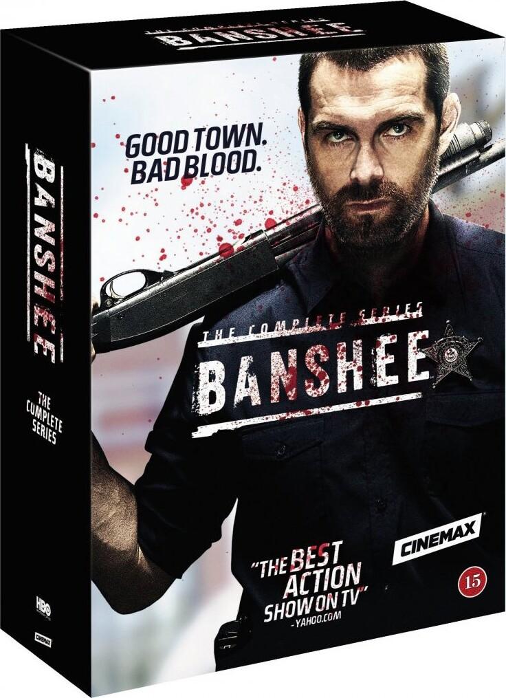Image of   Banshee - Den Komplette Serie - Hbo - DVD - Tv-serie