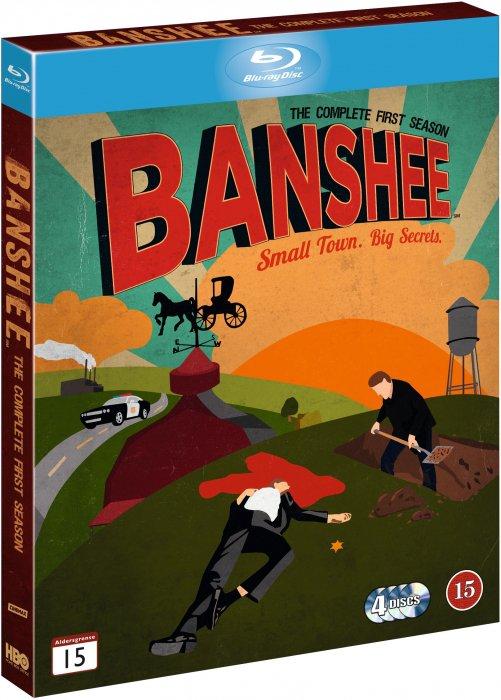Image of   Banshee - Sæson 1 - Hbo - Blu-Ray - Tv-serie