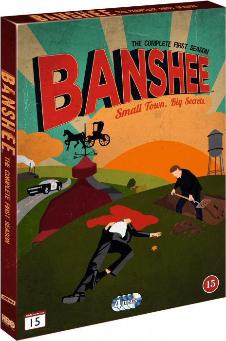 Image of   Banshee - Sæson 1 - Hbo - DVD - Tv-serie