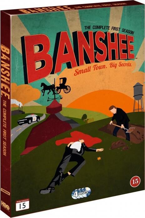 Image of   Banshee - Sæson 1 - Hbo - DVD - Tv-serie