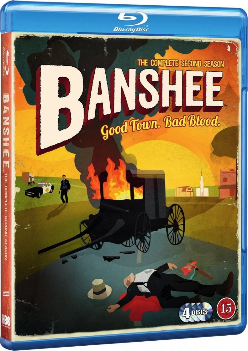Banshee - Sæson 2 - Hbo - Blu-Ray - Tv-serie
