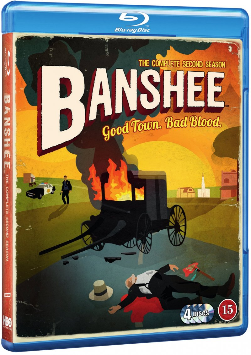 Image of   Banshee - Sæson 2 - Hbo - Blu-Ray - Tv-serie
