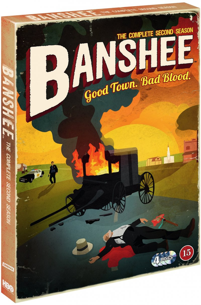 Image of   Banshee - Sæson 2 - Hbo - DVD - Tv-serie