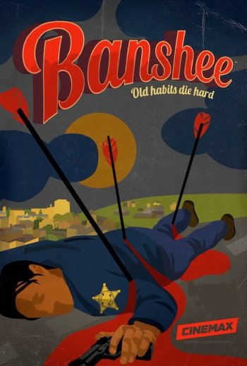 Image of   Banshee - Sæson 3 - Hbo - DVD - Tv-serie