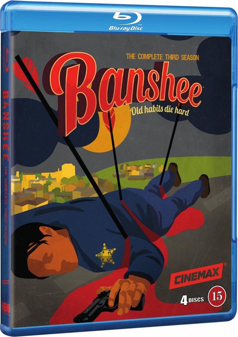 Banshee - Sæson 3 - Hbo - Blu-Ray - Tv-serie