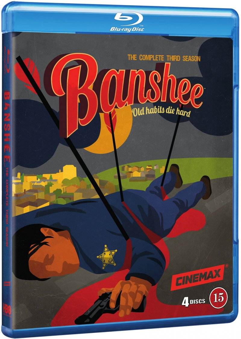 Image of   Banshee - Sæson 3 - Hbo - Blu-Ray - Tv-serie