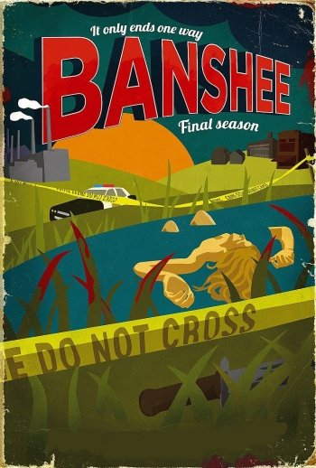 Image of   Banshee - Sæson 4 - Hbo - DVD - Tv-serie