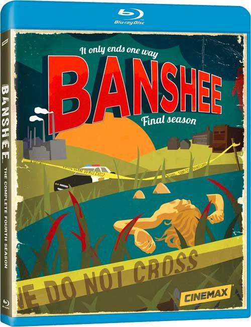 Banshee - Sæson 4 - Hbo - Blu-Ray - Tv-serie