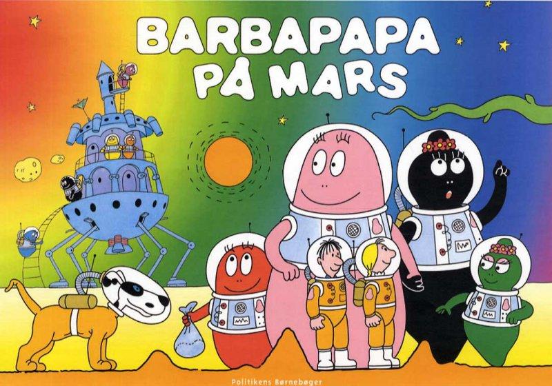Barbapapa På Mars - Annette Tison - Bog