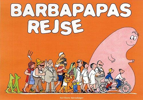 Image of   Barbapapas Rejse - Annette Tison - Bog
