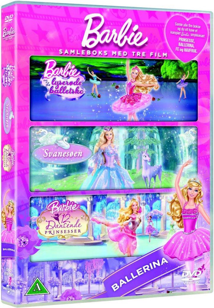 Image of   Barbie Boks - Ballerinaer - DVD - Film