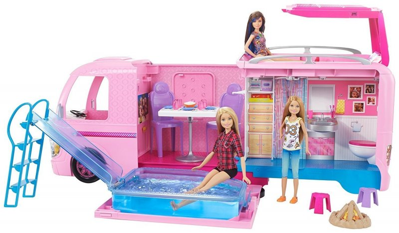 Image of Barbie Campingvogn