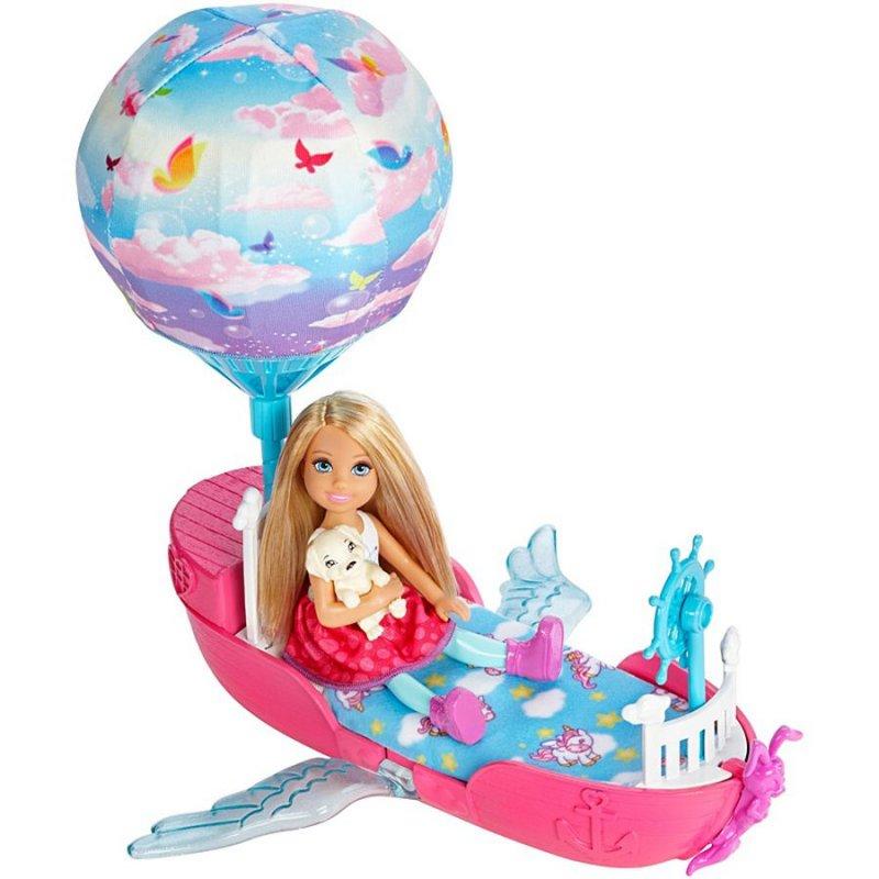 Barbie Chelsea Dukke - Chelsea I Drømmebåd