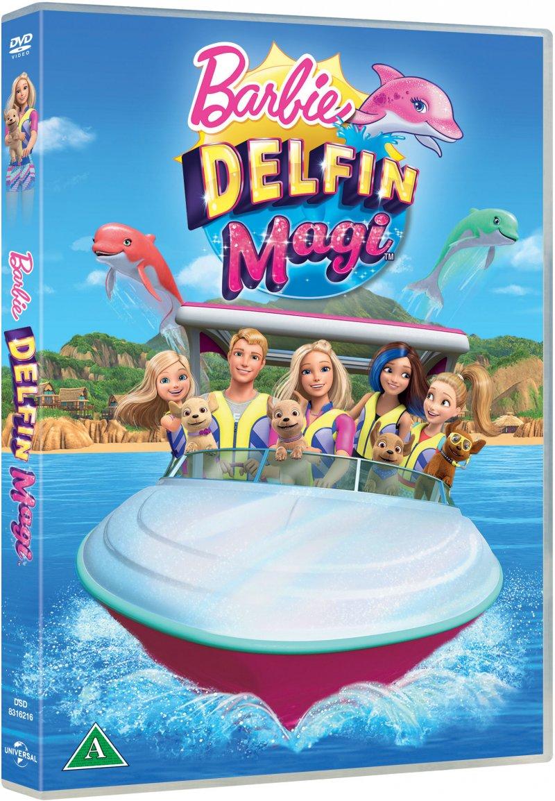 Image of   Barbie - Dolphin Magic / Barbie - Delfinmagi - DVD - Film