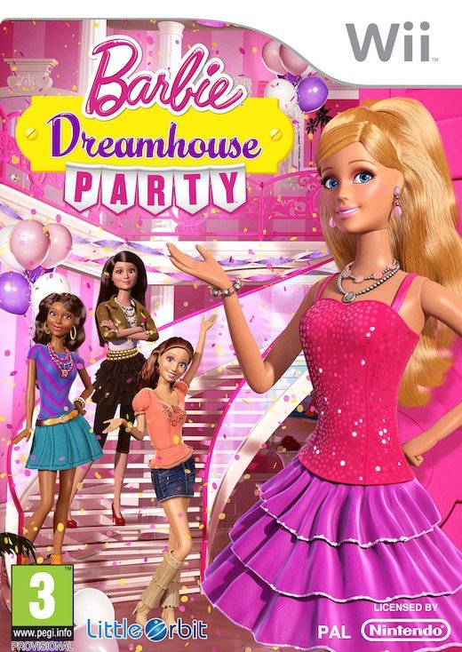 Image of   Barbie Dreamhouse Party - Wii