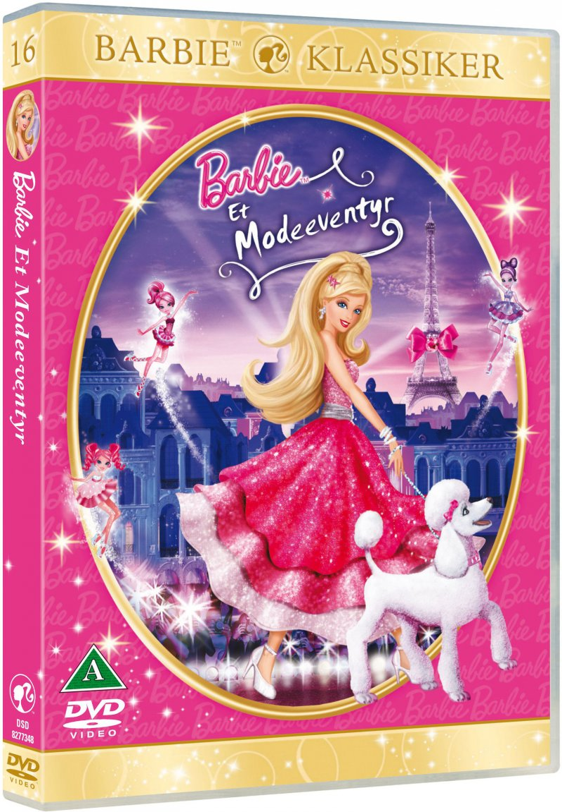 Image of   Barbie I Et Modeeventyr / Barbie In A Fashion Fairytale - DVD - Film