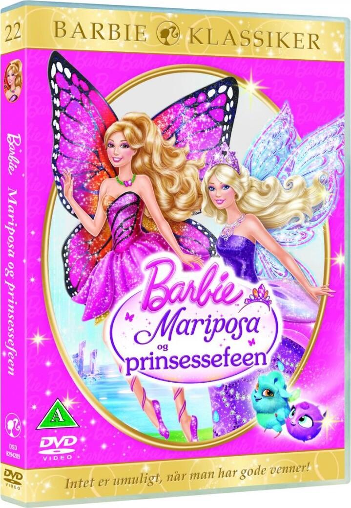 Image of   Barbie: Mariposa And The Fairy Princess / Og Prinsessefeen - DVD - Film