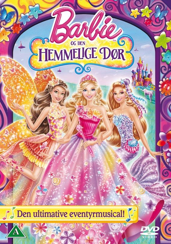 Image of   Barbie Og Den Hemmelige Dør - DVD - Film