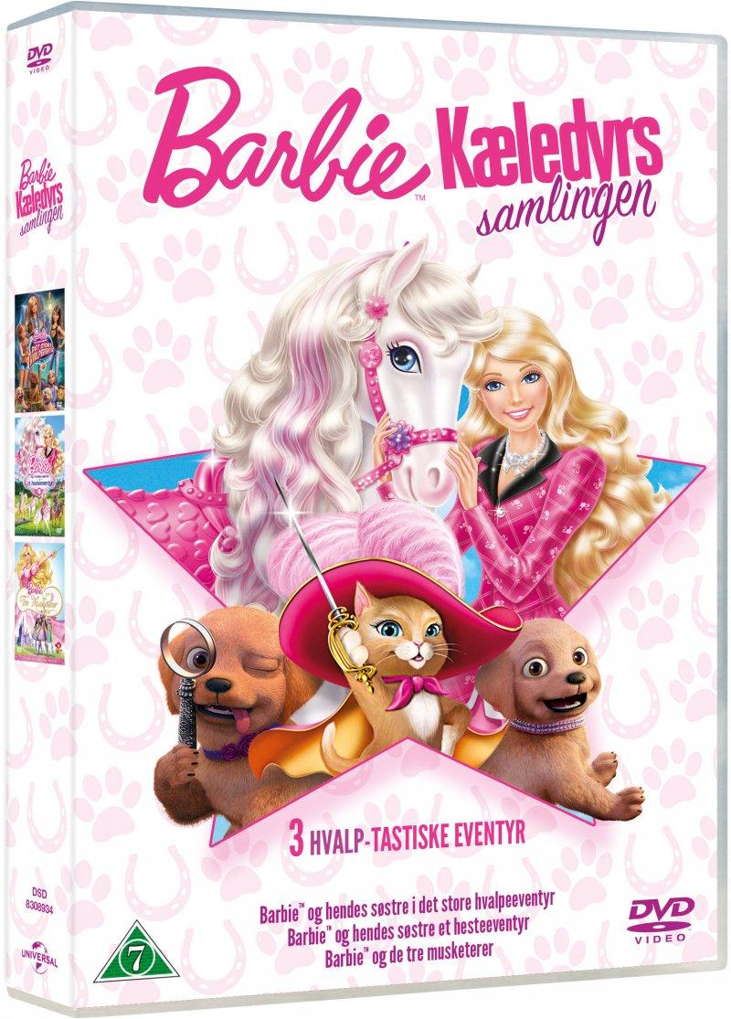 Billede af Barbie - Kæledyr Boks - DVD - Film