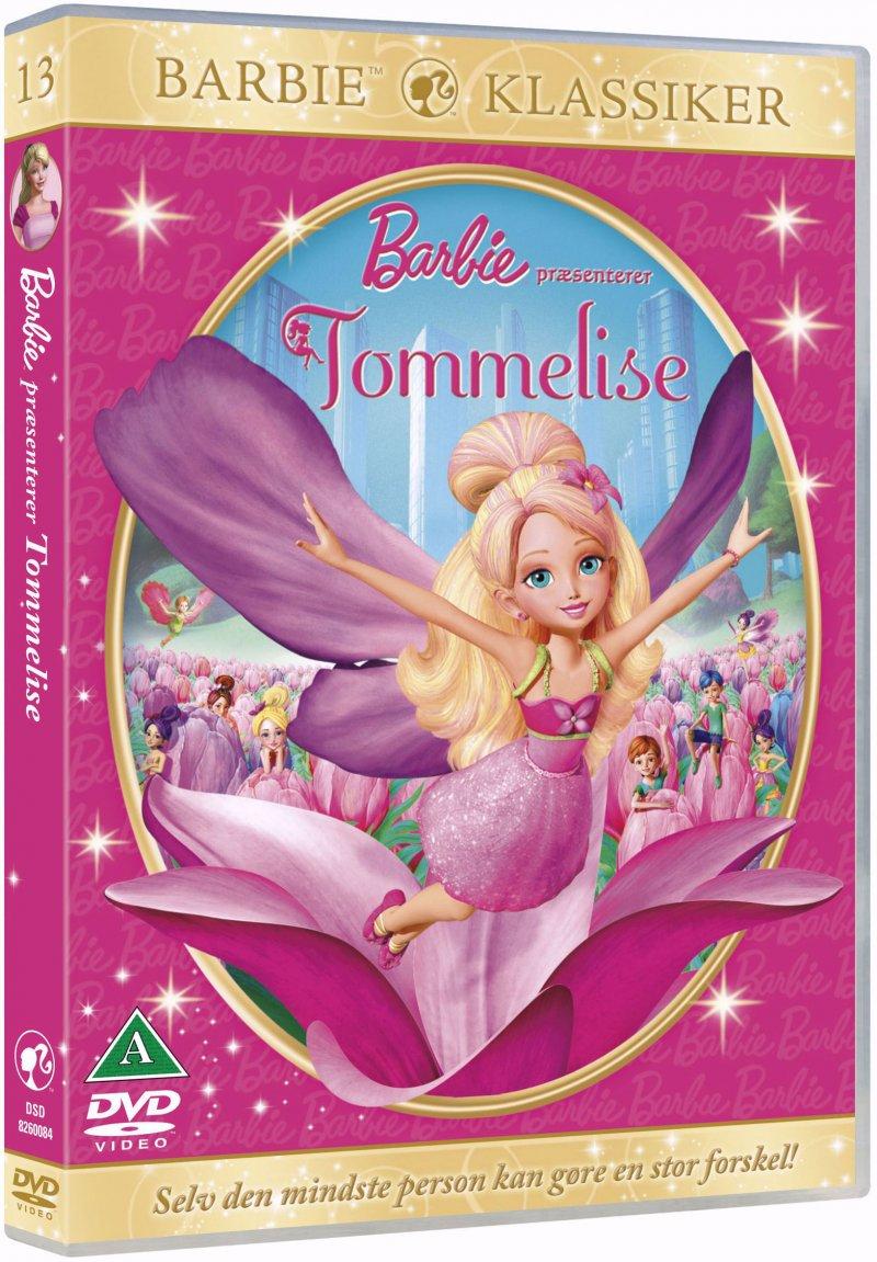 Image of   Barbie Presents Thumbelina / Barbie Præsenterer Tommelise - DVD - Film