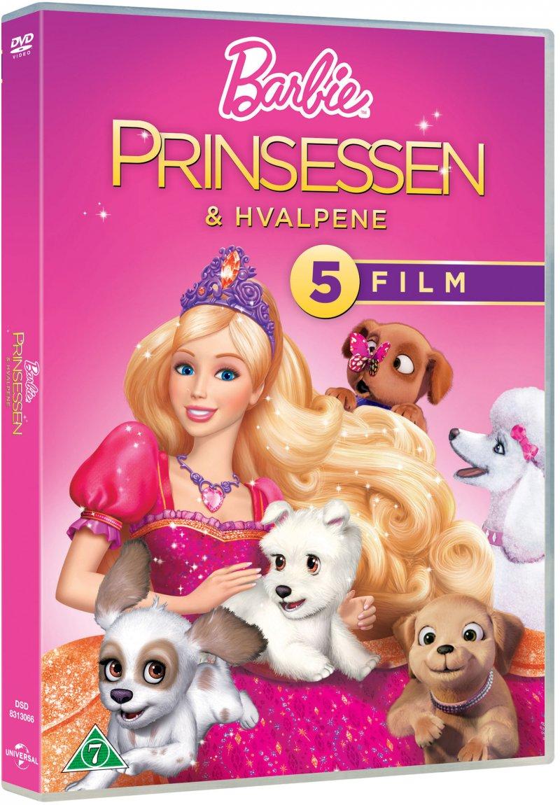 Billede af Barbie - Prinsessen Og Hvalpene - DVD - Film