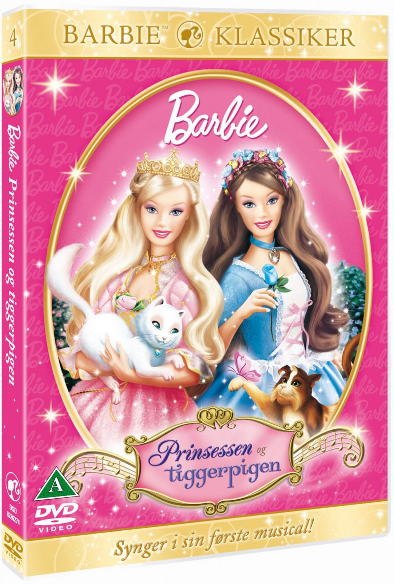 Image of   Barbie: Prinsessen Og Tiggerpigen / Barbie As The Princess And The Pauper - DVD - Film