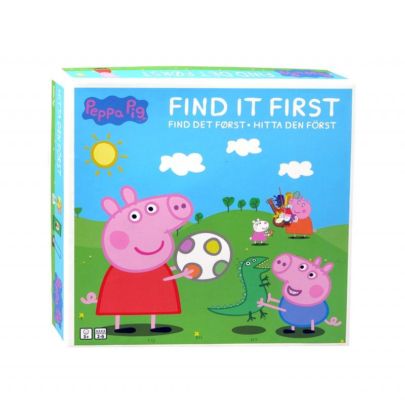 Gurli Gris Spil - Find Det Først - Brætspil