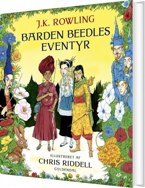 Image of   Barden Beedles Eventyr - Illustreret Udgave - J. K. Rowling - Bog