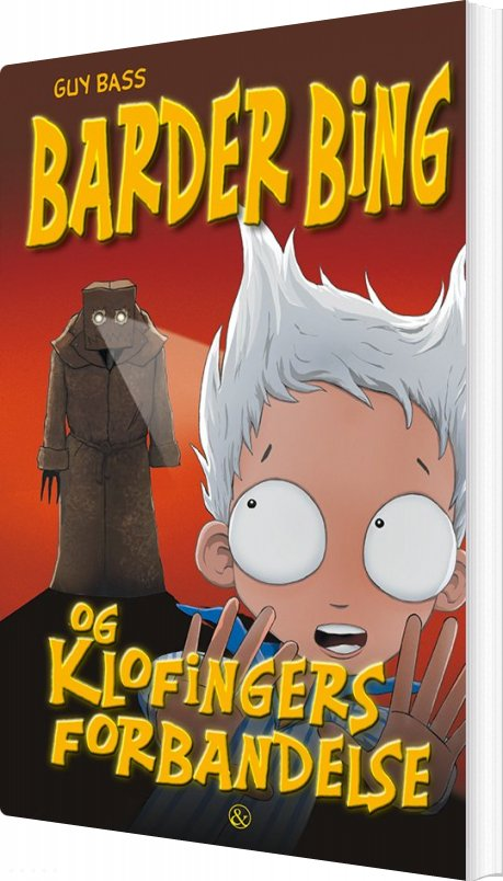 Image of   Barder Bing Og Klofingers Forbandelse - Guy Bass - Bog