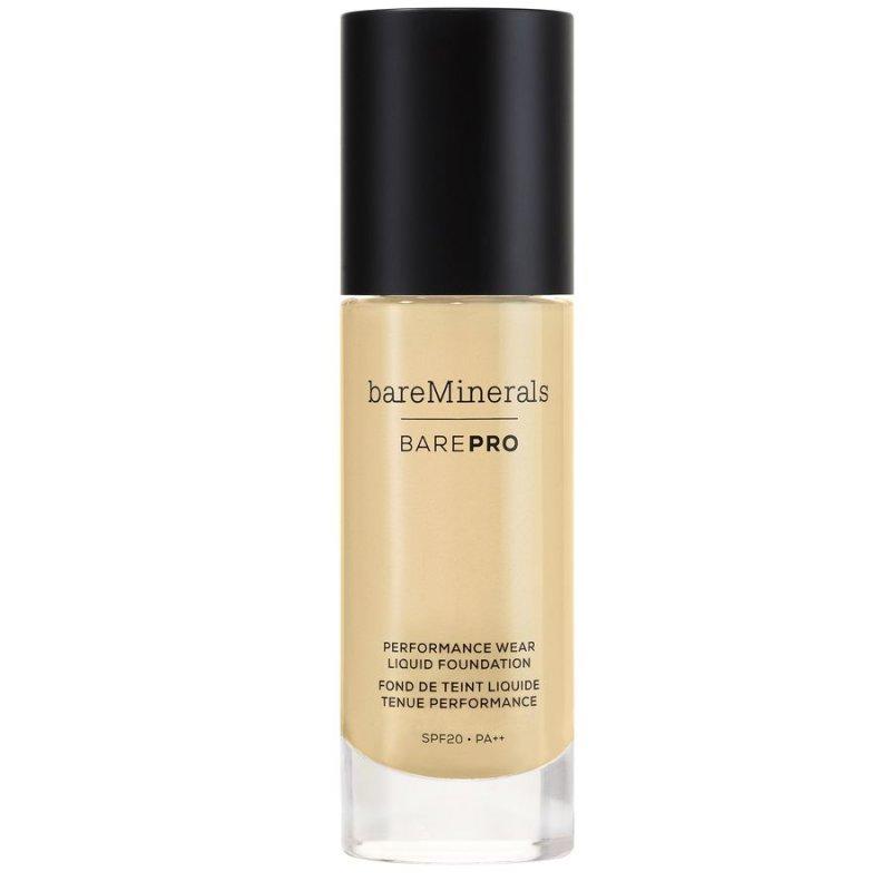 Image of   Bareminerals Foundation - Barepro Performance Wear Liquid - Golden Ivory 08