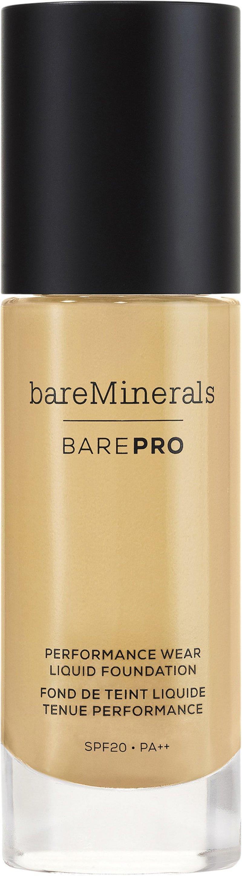 Image of   Bareminerals Foundation - Barepro Performance Wear Liquid - Pecan 18