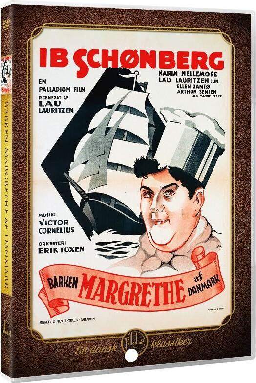 Image of   Barken Margrethe Af Danmark - DVD - Film