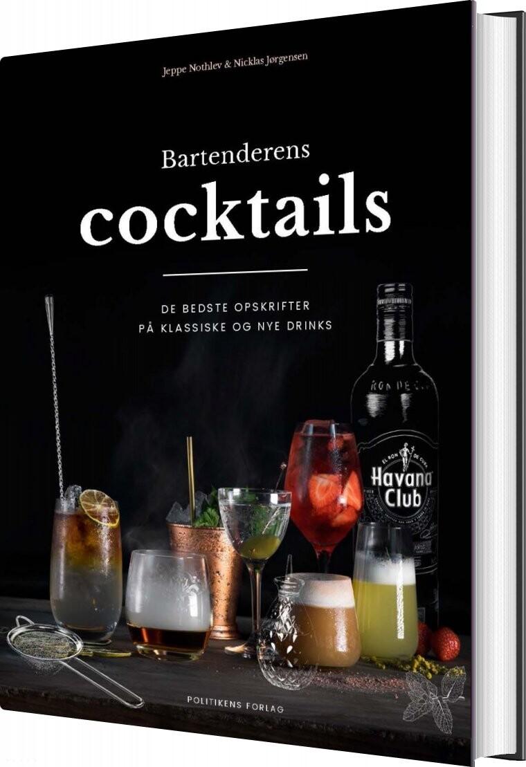 Image of   Bartenderens Cocktails - Nicklas Jørgensen - Bog