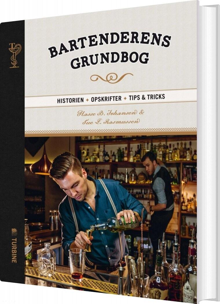 Image of   Bartenderens Grundbog - Hasse Bank Johansen - Bog