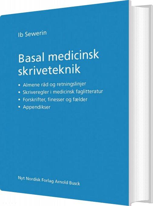 Billede af Basal Medicinsk Skriveteknik - Ib Sewerin - Bog