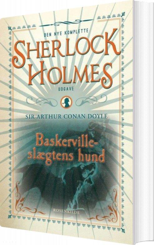 Image of   Baskerville-slægtens Hund, Bd 5 - Arthur Conan Doyle - Bog