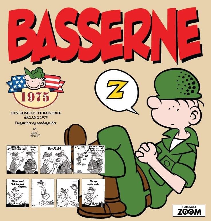 Basserne 1975 - Mort Walker - Tegneserie
