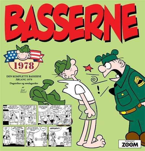 Basserne 1978 - Mort Walker - Tegneserie