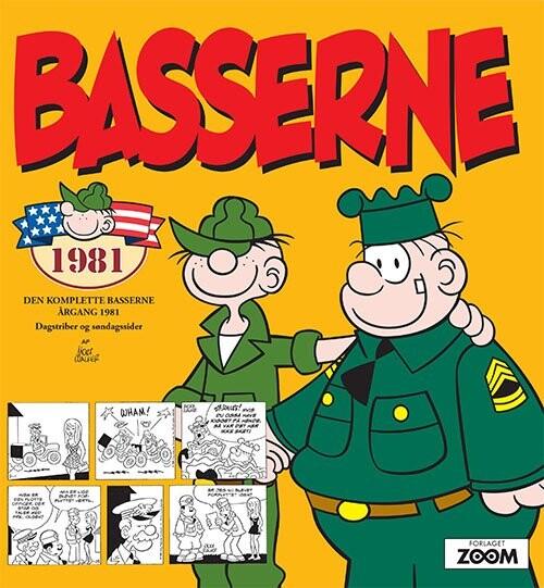 Image of   Basserne 1981 - Mort Walker - Tegneserie
