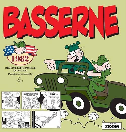 Image of   Basserne 1982 - Mort Walker - Tegneserie